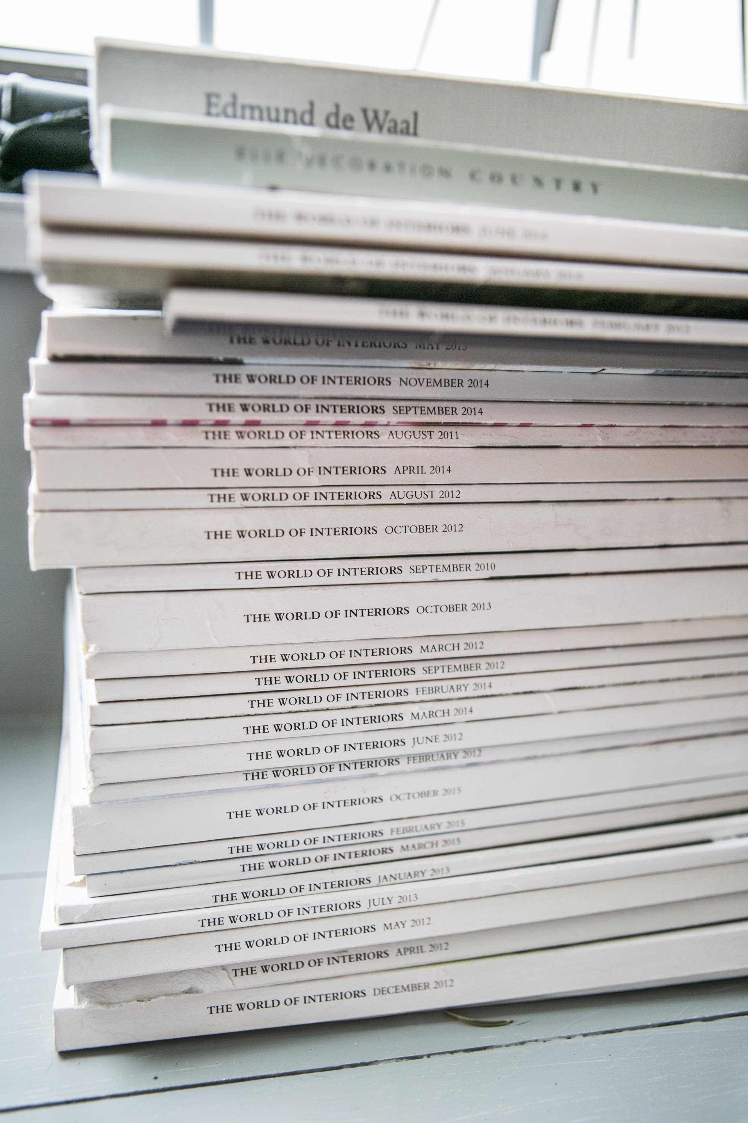 An Magazinen fehlt es auch nicht.