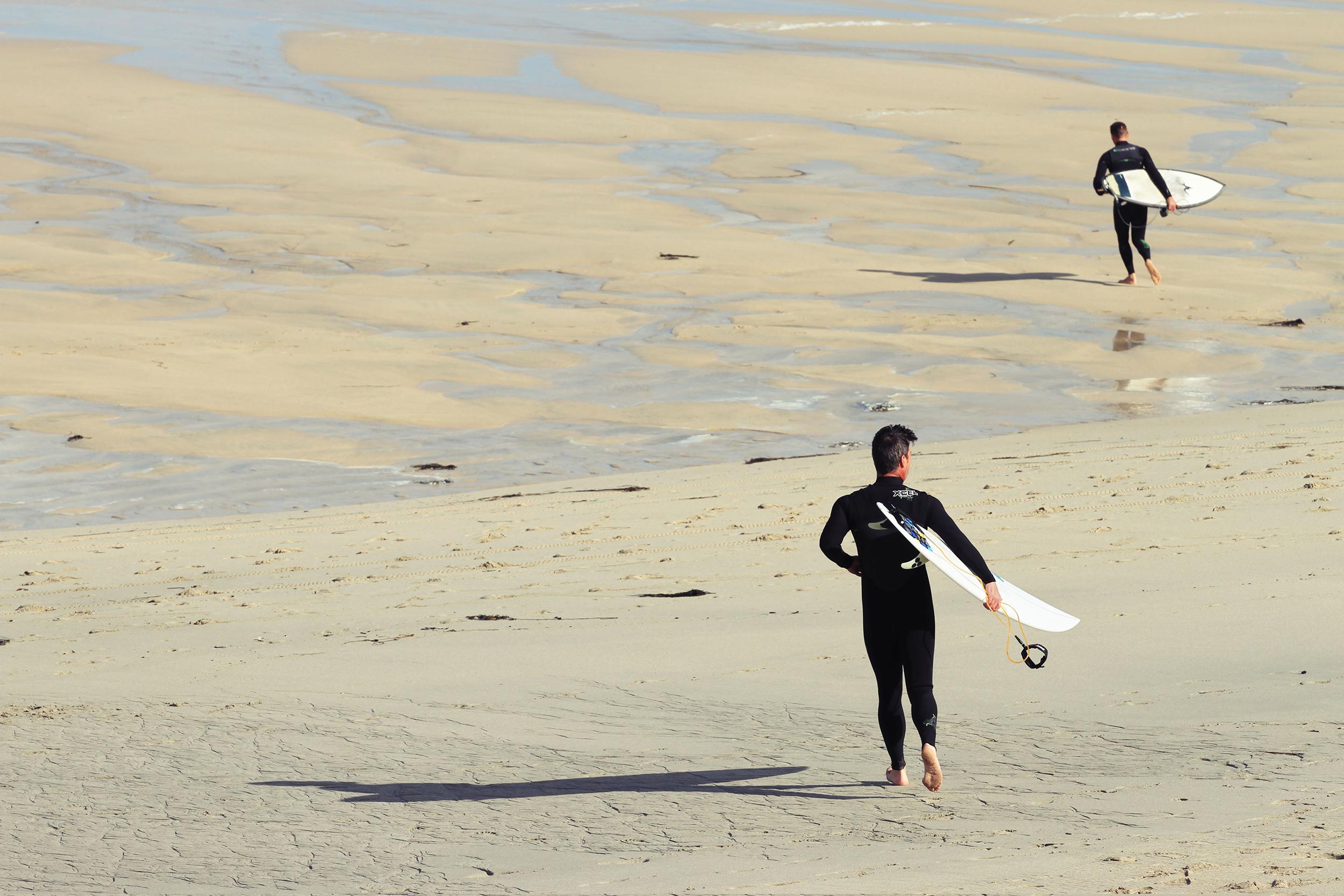 Surfer in St. Ives
