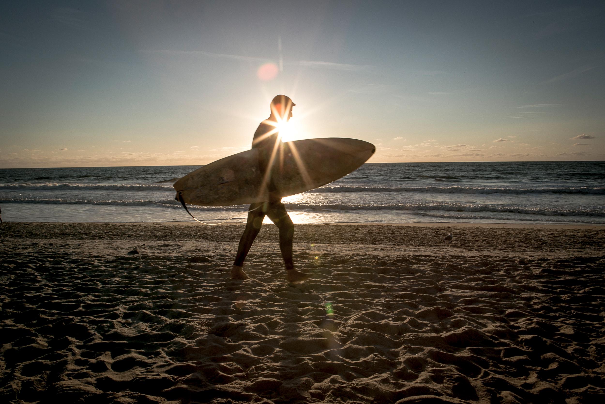 Weststrand_Surfer